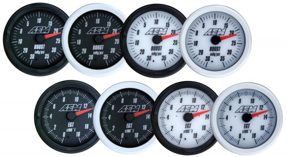 AEM Analog Gauges